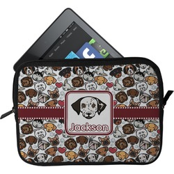 Dog Faces Tablet Case / Sleeve - Small (Personalized)
