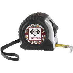 Dog Faces Tape Measure (25 ft) (Personalized)