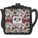 Dog Faces Teapot Trivet (Personalized)