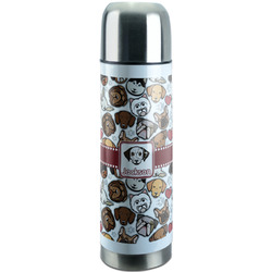 Dog Faces Stainless Steel Thermos (Personalized)