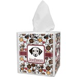 Dog Faces Tissue Box Cover (Personalized)