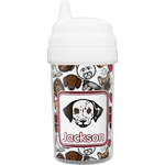 Dog Faces Sippy Cup (Personalized)