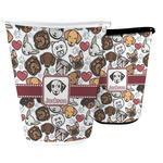 Dog Faces Waste Basket (Personalized)