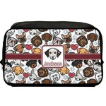 Dog Faces Toiletry Bag / Dopp Kit (Personalized)