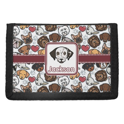 Dog Faces Trifold Wallet (Personalized)