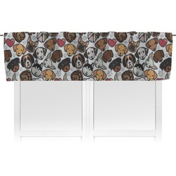 Dog Faces Valance (Personalized)