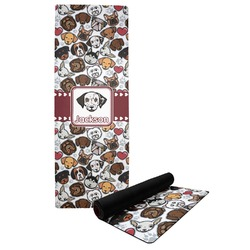 Dog Faces Yoga Mat (Personalized)