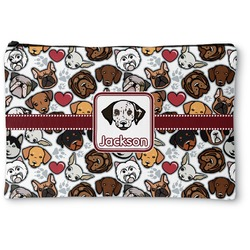 """Dog Faces Zipper Pouch - Small - 8.5""""x6"""" (Personalized)"""