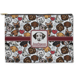 Dog Faces Zipper Pouch (Personalized)