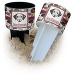 Dog Faces Beach Spiker Drink Holder (Personalized)