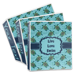 Sea Turtles 3-Ring Binder (Personalized)