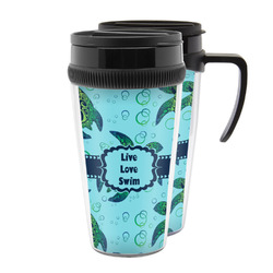 Sea Turtles Acrylic Travel Mugs (Personalized)