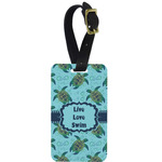 Sea Turtles Aluminum Luggage Tag (Personalized)