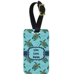 Sea Turtles Aluminum Luggage Tag (Personalized)