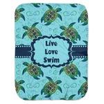 Sea Turtles Baby Swaddling Blanket (Personalized)
