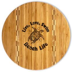 Sea Turtles Bamboo Cutting Board