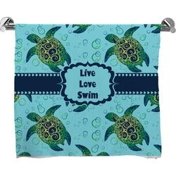 Sea Turtles Full Print Bath Towel (Personalized)