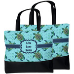 Sea Turtles Beach Tote Bag (Personalized)