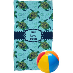 Sea Turtles Beach Towel (Personalized)
