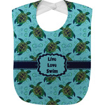 Sea Turtles Baby Bib (Personalized)