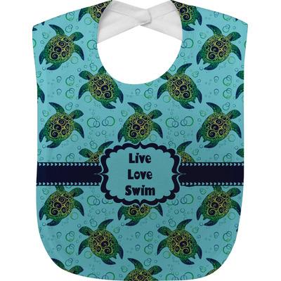 Sea Turtles Baby Bib (Personalized)