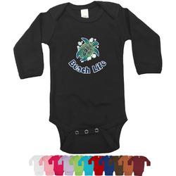 Sea Turtles Bodysuit - Black (Personalized)