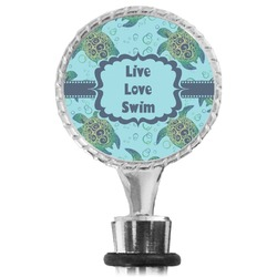 Sea Turtles Wine Bottle Stopper (Personalized)