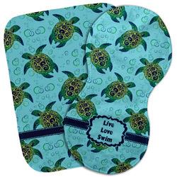 Sea Turtles Burp Cloth