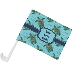 Sea Turtles Car Flag (Personalized)