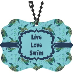 Sea Turtles Rear View Mirror Decor (Personalized)