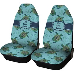 Sea Turtles Car Seat Covers (Set of Two) (Personalized)