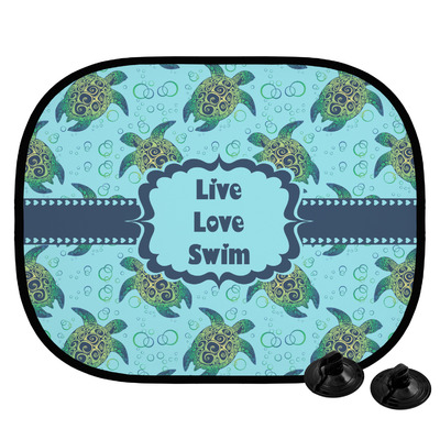 Sea Turtles Car Side Window Sun Shade (Personalized)