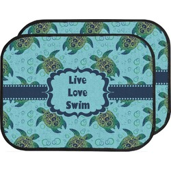 Sea Turtles Car Floor Mats (Back Seat) (Personalized)