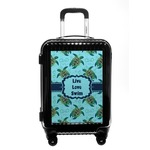 Sea Turtles Carry On Hard Shell Suitcase (Personalized)
