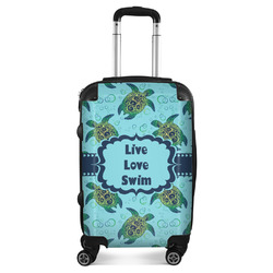 """Sea Turtles Suitcase - 20"""" Carry On (Personalized)"""