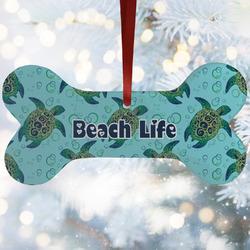 Sea Turtles Ceramic Dog Ornaments