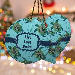 Sea Turtles Ceramic Ornament