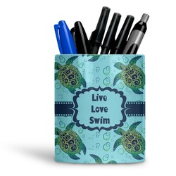 Sea Turtles Ceramic Pen Holder