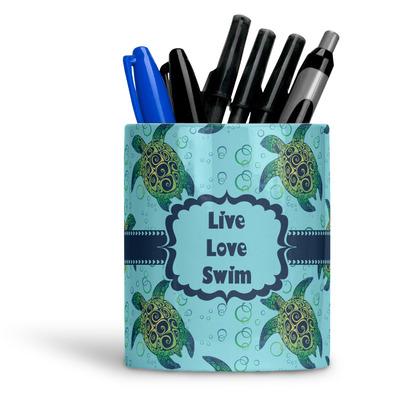 Sea Turtles Ceramic Pen Holder