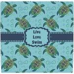 Sea Turtles Ceramic Tile Hot Pad (Personalized)