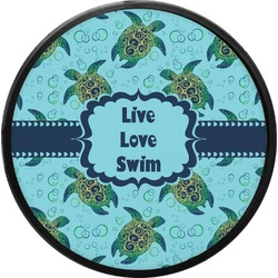Sea Turtles Round Trailer Hitch Cover (Personalized)