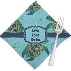 Sea Turtles Cloth Napkins (Set of 4) (Personalized)