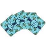 Sea Turtles Cork Coaster - Set of 4