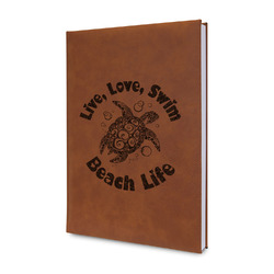 Sea Turtles Leatherette Journal (Personalized)