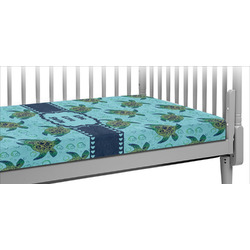 Sea Turtles Crib Fitted Sheet
