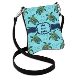 Sea Turtles Cross Body Bag - 2 Sizes (Personalized)