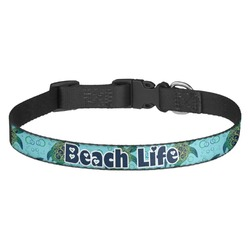 Sea Turtles Dog Collar - Multiple Sizes (Personalized)