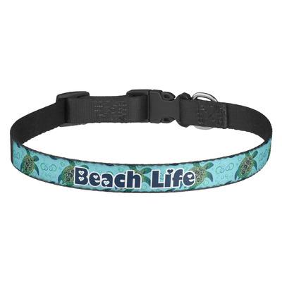 Sea Turtles Dog Collar (Personalized)