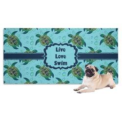 Sea Turtles Pet Towel (Personalized)