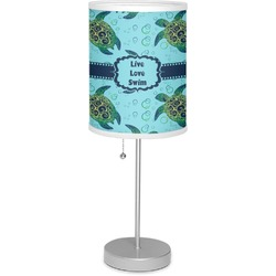 """Sea Turtles 7"""" Drum Lamp with Shade Polyester (Personalized)"""